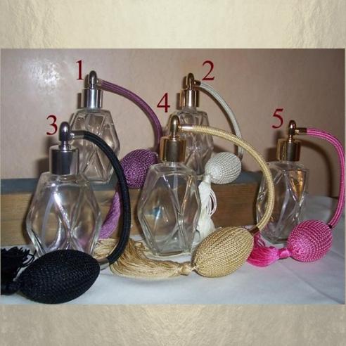 Vaporisateur de parfum poire facettes Personnalisables - Au pays des senteurs