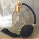 Vaporisateur de parfum poire noire facettes 60 ml