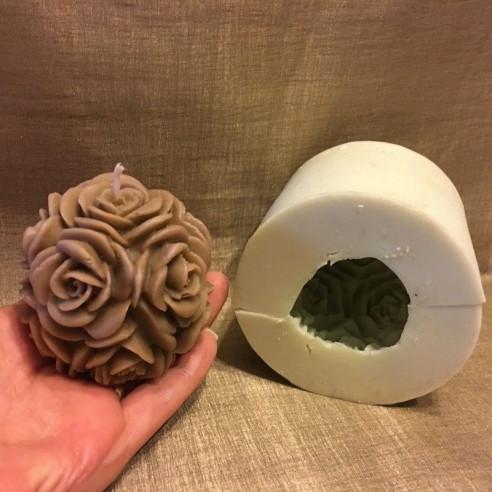Bougie décorative artisanale parfumée 104 aurati