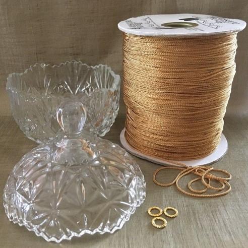 Bougie parfumée artisanale bonbonnière sucrier en verre composants