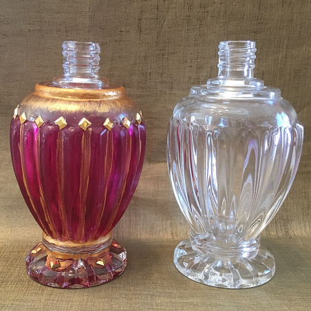 Vaporisateur de parfum artisanal peint à la main et Cristal de Swarovski