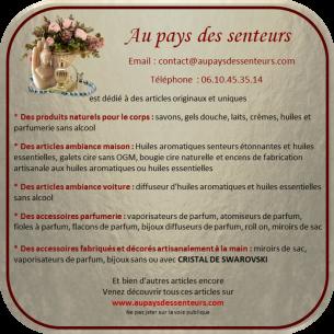 Vaporisateur de parfum or et Cristal de Swarovski Volcano artisanal de luxe Vaporisateurs de parfum