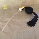 Poire de rechange pour vaporisateurs de parfum courte pompon+ atomiseur de parfum noir