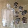 Vaporisateur de parfum camé artisanal en nacre d'Abalone artisanal groupé