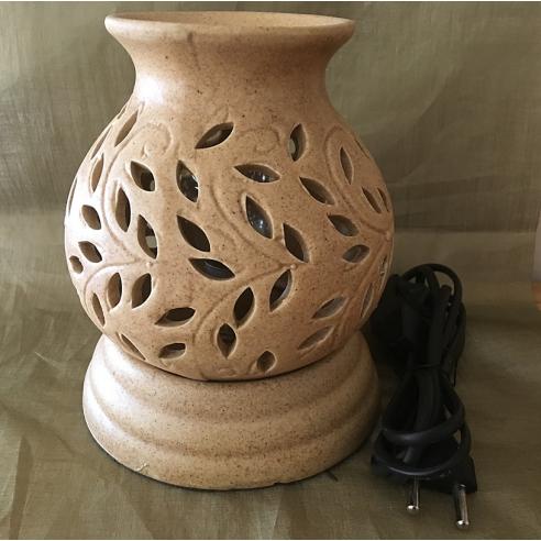 Lampe diffuseur de parfum en céramique artisanale