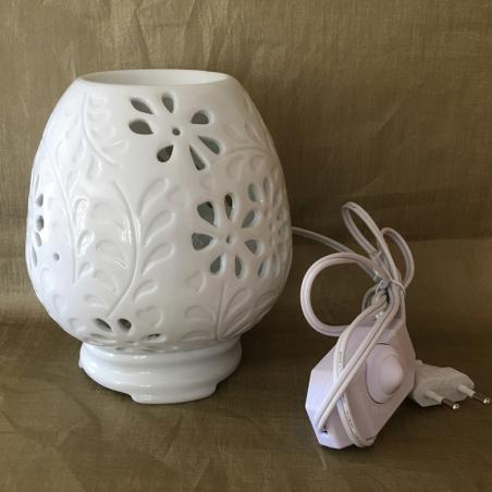 Lampe diffuseur de parfum en céramique