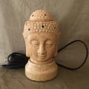 lampe diffuseur de parfum céramique bouddha sable artisanale