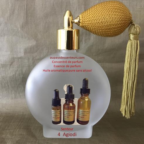 Concentré de parfum essence de parfum N° 4 Agiodi