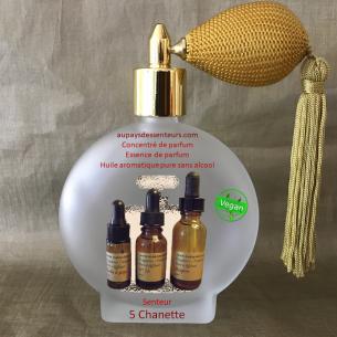 Concentré de parfum essence de parfum 5 Chanette