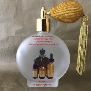 Concentré de parfum essence de parfum 6 Amarigette