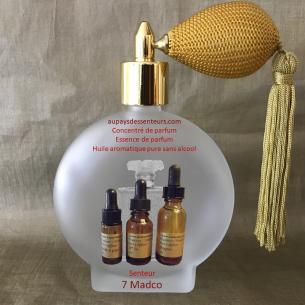 Concentré de parfum essence de parfum 7 Madco