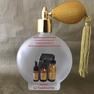 Concentré de parfum essence de parfum 12 Flokenzette