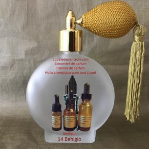 Concentré de parfum essence de parfum huile aromatique 14 Béhigio