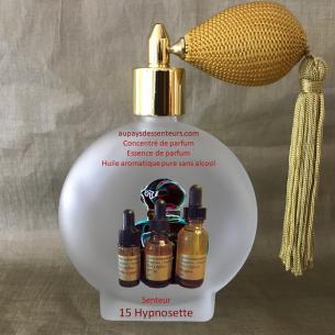 Concentré de parfum essence de parfum huile aromatique 15 Hypnosette