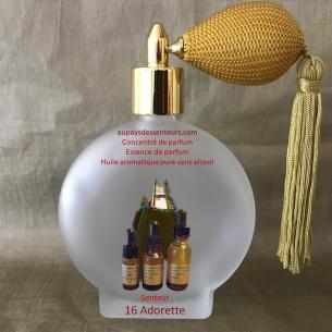 Concentré de parfum essence de parfum 16 Adorette
