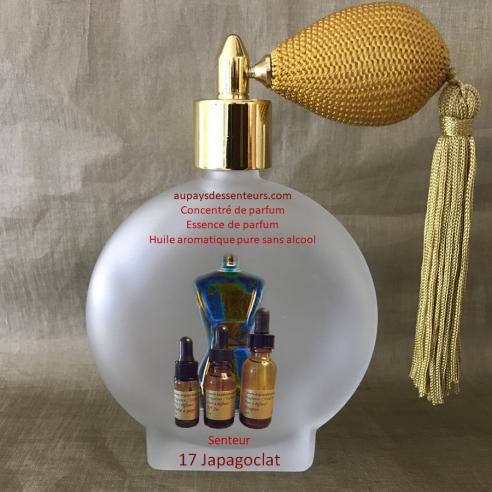 Concentré de parfum essence de parfum  N° 17 Japagoclat