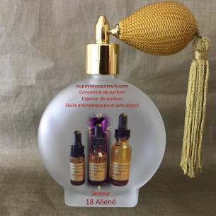 Concentré de parfum essence de parfum 18 Aliené