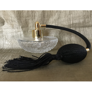Vaporisateur de parfum 60 ml poire noire Poire rétro longue - Au pays des senteurs