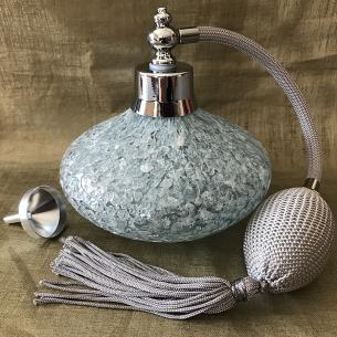 Vaporisateur de parfum poire de luxe verre artisanal 140 ml vide et rechargeable