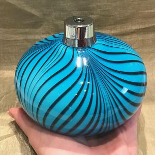 Vaporisateur de parfum poire verre artisanal bleu de luxe 510 ml Luxe verre artisanal