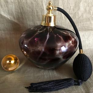 Vaporisateur de parfum poire de luxe verre artisanal 540 ml nuage grande contenance vide et rechargeable