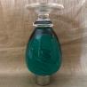 Vaporisateur de parfum poire de luxe verre artisanal 80 ml vert envers