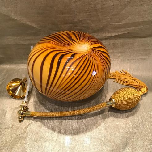 Vaporisateur de parfum poire artisanal de luxe ambre 500 ml Luxe verre artisanal