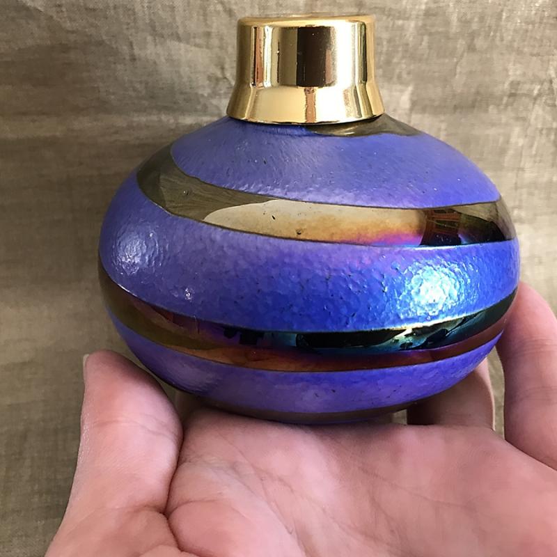 Vaporisateur de parfum poire verre artisanal 120 ml Luxe verre artisanal
