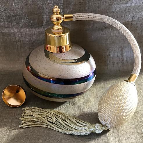 Vaporisateur de parfum poire verre artisanal 100 ml Luxe verre artisanal