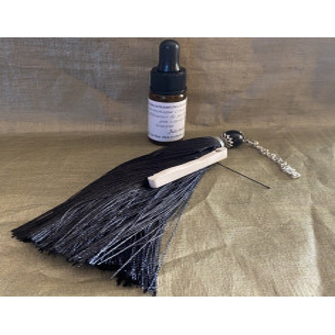Pompon diffuseur de parfum par capillarité avec 10 ml fragrance sans alcool