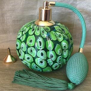 Vaporisateur de parfum poire vert de luxe verre artisanal 285 ml vide et rechargeable grande contenance Vaporisateurs de parf...