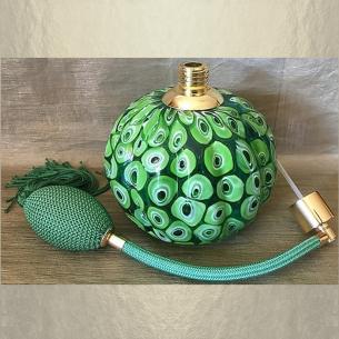 Vaporisateur de parfum poire vert de luxe verre artisanal 285 ml vide et rechargeable grande contenance Vaporisateurs de parfum