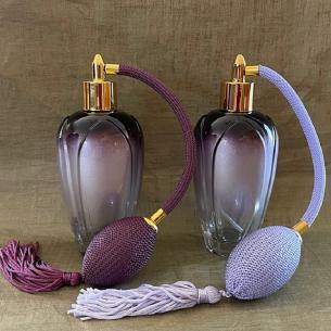 Vaporisateur de parfum vide à poire 140 ml Poire rétro longue