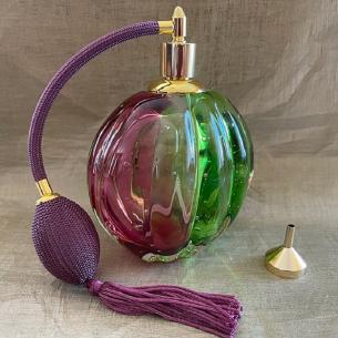 Vaporisateur de parfum poire verre artisanal de luxe 260 ml vide et rechargeable Luxe verre artisanal