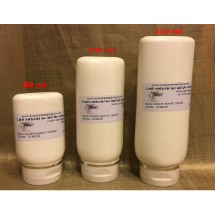Lait naturel pour le visage et le corps au lait de chèvre  - 1