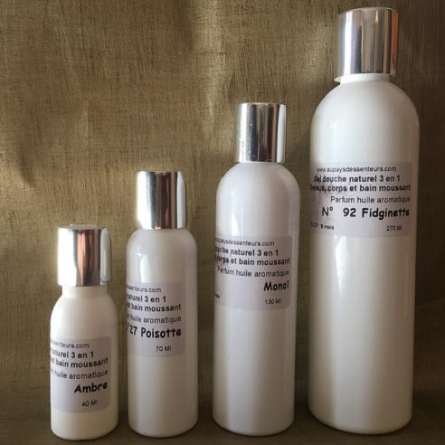 Gel douche naturel 3 en 1 Cheveux, corps et bain moussant  - 1