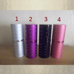 Vaporisateur de parfum 32 ml en métal déclassé  - 1