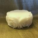 Savon crème naturel au lait de chèvre modèle fleur
