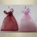 Pochettes / sac en organza 10 x 12 cm