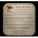 Pochette cadeaux,  sac en organza 22 x 16,5 cm rose tendre grande contenance