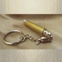 Stylo applicateurs de parfum porte clés roll on bille métal