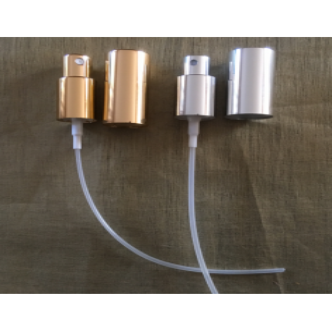 Atomiseurs de rechange simple pour vaporisateurs de parfum or ou argent  - 1
