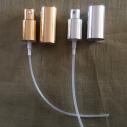 Atomiseurs de rechange simple pour vaporisateurs de parfum or ou argent