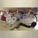 Vaporisateur de parfum poire,  diamant 100 ml vide et rechargeable