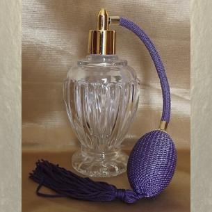 Vaporisateur de parfum poire boule sur pied 110 ml vide et rechargeable  - 2