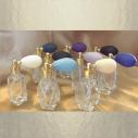 Vaporisateur de parfum poire courte facette 15 ml vide et rechargeable facette Poire rétro courte