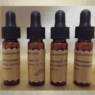 Fragrance, huile aromatique pure et concentrée soluble pour le linge 4 x 4 ml  - 1