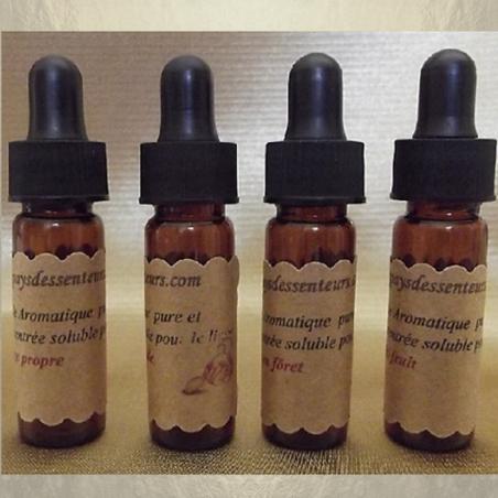 Fragrance, huile aromatique pure et concentrée soluble pour le linge 4 x 4 ml