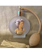 Vaporisateurs de parfum décoration artisanale porcelaine froide