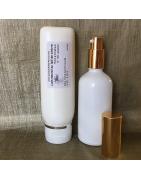 Huile sèche naturelle pour le corps et lait pour le corps naturel